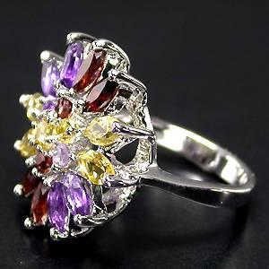 anel de pedras naturais