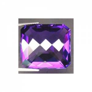 Ametista Púrpura VVS Octagonal com 27.66 Cts