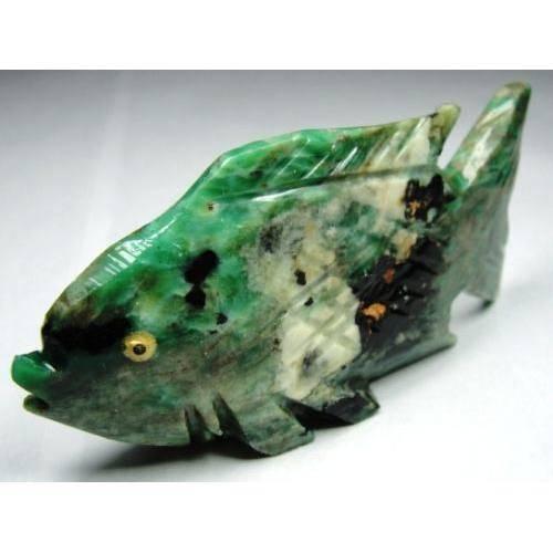 Peixe Esculpido em Sodalita com 148,5 Cts