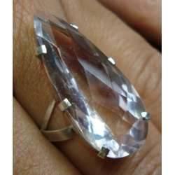 anel com pedra grande