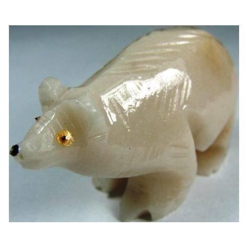 Urso Esculpido em Sodalita