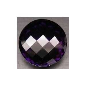 Ametista Purpura Vvs Redonda Checkboard 47.26cts