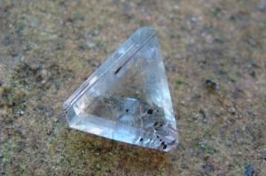 Cristal de Quartzo Rutilado com 11,0 Cts