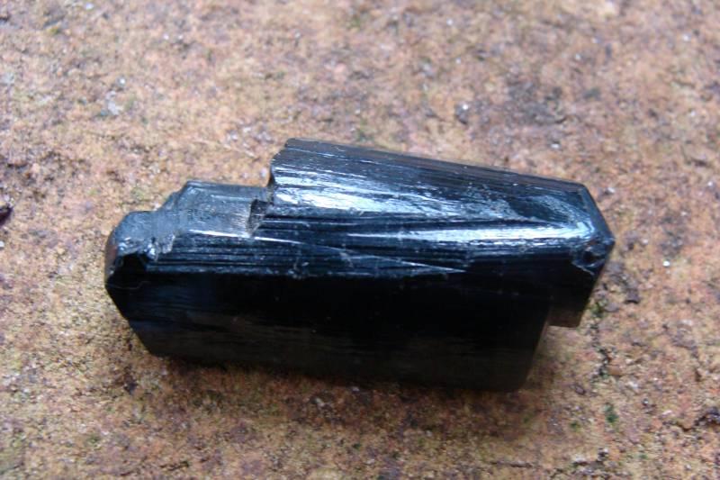 Turmalina Negra Bruta com 75,0 Cts
